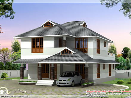 Beautiful house elevation modern style house elevations beautiful homes plans - Beautiful bedroom house plans ...