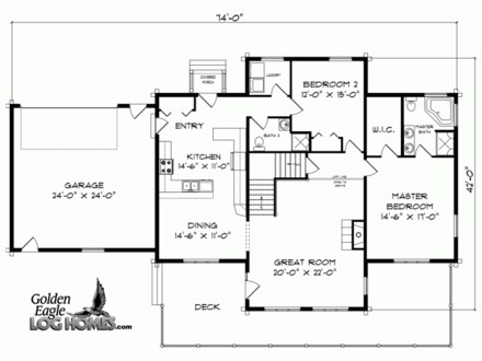 Big Log Cabins Log Cabin Homes Floor Plans