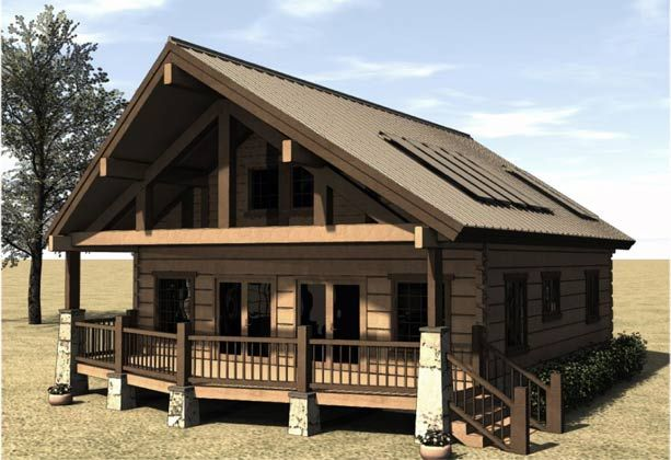 Cabin House Plans 800 Sqft Cabin House Plans with Porches
