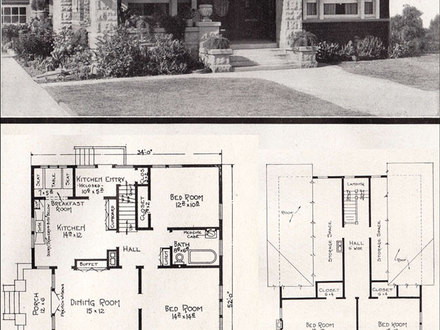 Mid century modern house plans mid century modern house for Chicago style bungalow floor plans