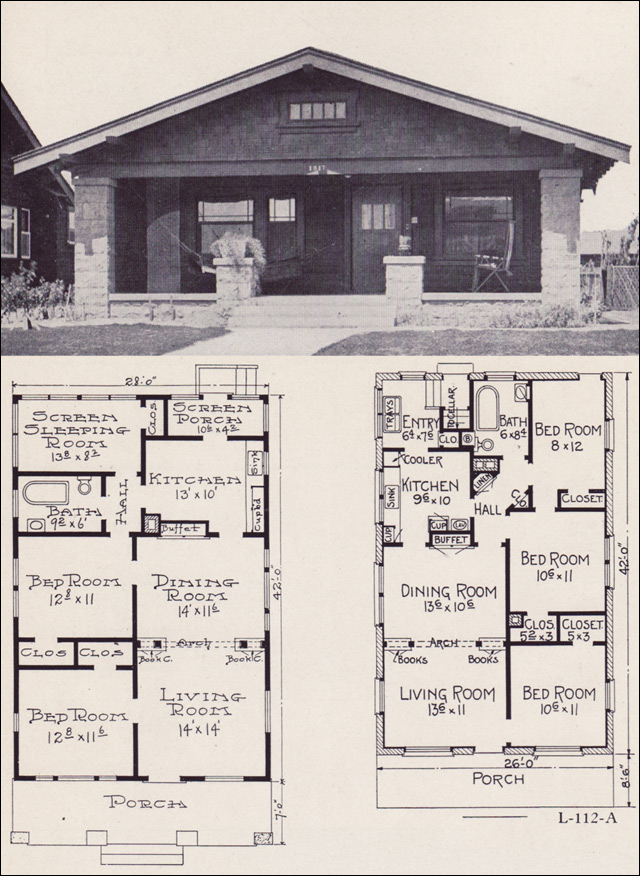 California bungalow house plans 1920 bungalow house plans for California craftsman house plans
