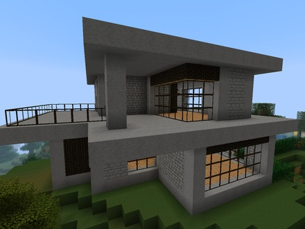 Cool Modern Houses On Minecraft Contemporary House