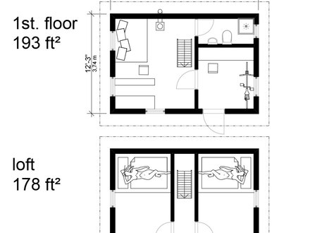 Cottage Cabin Floor Plans English Cottage Floor Plans