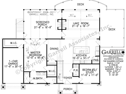 Country Cottage House Floor Plans Country House Plans Small Cottage