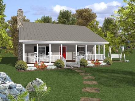 Country Ranch House Plans Small Ranch House Plans with Porch