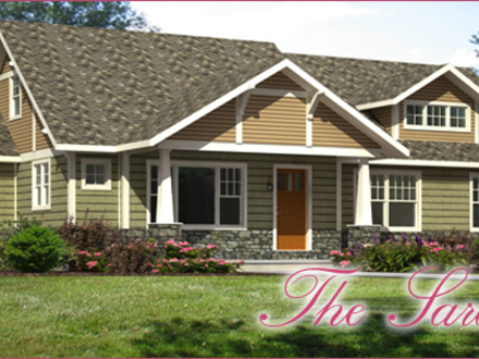Craftsman style home interiors single story craftsman for Craftsman manufactured homes