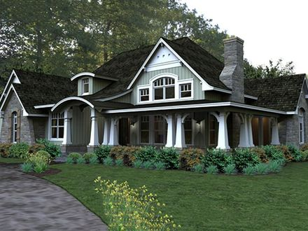 Craftsman Style House Plans for Small Homes Craftsman Bungalow House Plans