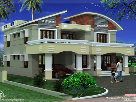 Double Storey House Design Small Double Storey House Plan