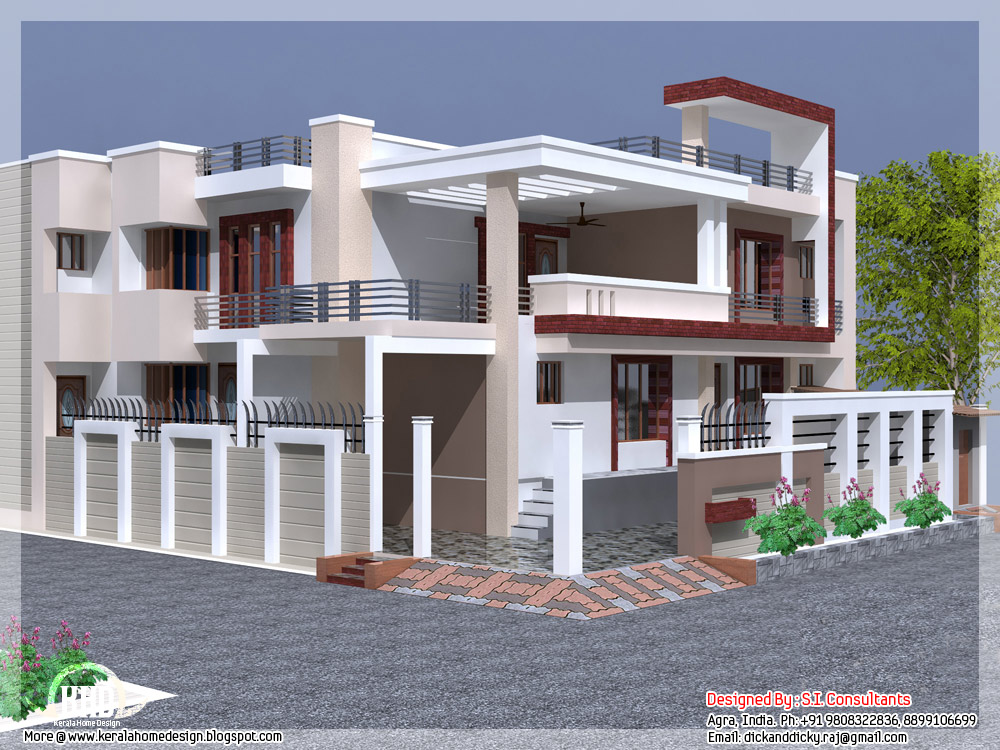 Front Elevation Indian House Designs Beautiful Houses Elevations India