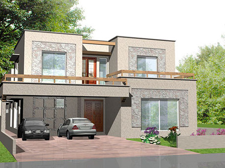 Getting Proposed To PROPOSED DESIGN OF A 1 KANAL BUNGALOW / 814 SQUARE METER LAND AT 75/2