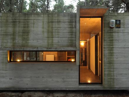 Glass House Architecture Concrete and Glass House Designs