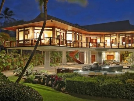 Hawaii Mansion Interior Design Hawaii Beachfront Home Design