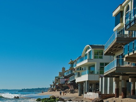 Houses Built On Stilts in California Homes On Stilts by the Sea
