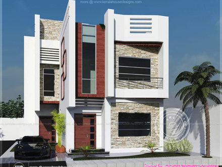 Indian Small Modern House Modern Home Design Small Houses