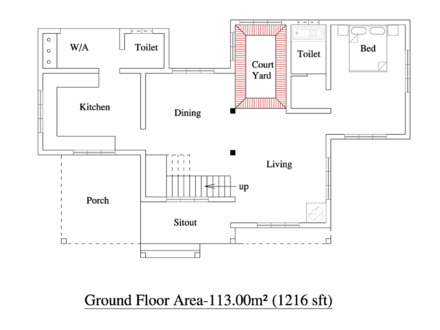 Kerala 3 Bedroom House Plans 3 Bedroom House Layouts