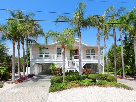 Key West style water front home on beautiful Anna Maria Island Key West Sunset