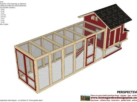 Large Chicken Coops Chicken Co op Building Plans