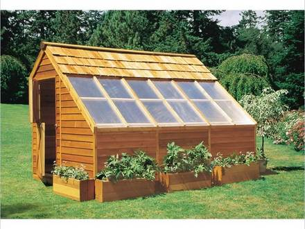 Lean to Greenhouse Wood Greenhouse Plans