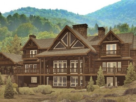 Most amazing log homes epic log home floor plans log for Log and stone home plans