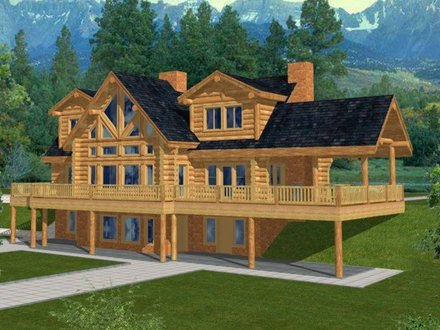 Log Cabin Homes and Houses Easy Log Cabin Homes