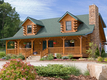 Log Cabin Homes in Wyoming Log Cabin Home Packages