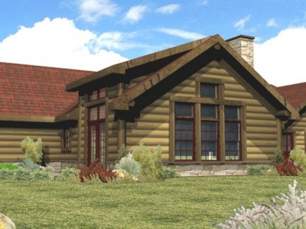 Log Home Plans Single Story Single Story Log Cabin Homes Plans