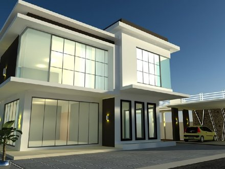 Modern Bungalow House Design Malaysia Modern Bungalow Plans