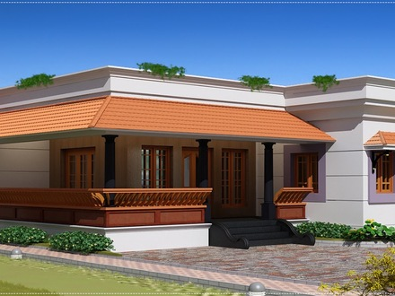 Modern Single Floor House Designs Kerala Single Floor House Designs