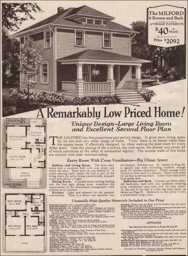 Montgomery Ward House Plans Montgomery Ward Catalog Homes