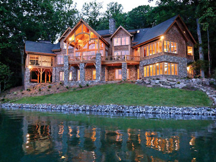 Mountain or Lake House Plans Luxury Lake House Plans