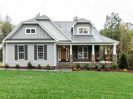 Custom craftsman style house plans ranch style homes for Craftsman custom homes