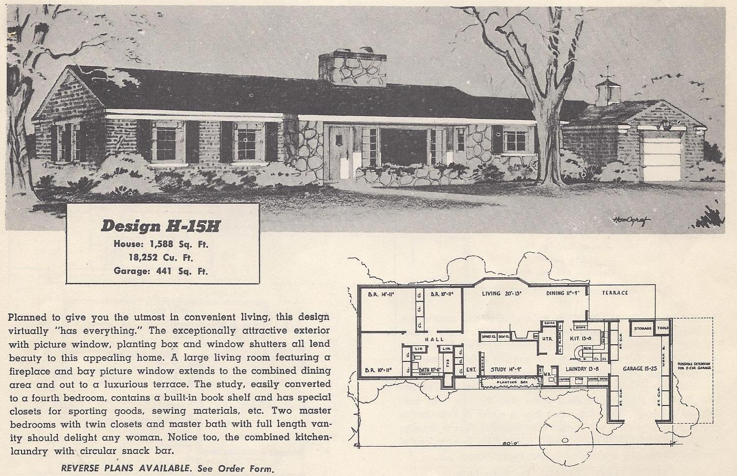 Old ranch house vintage ranch house floor plans vintage for Old ranch house plans