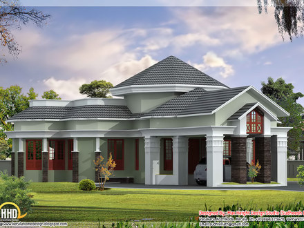 One Floor House Designs Single Floor House Front Design
