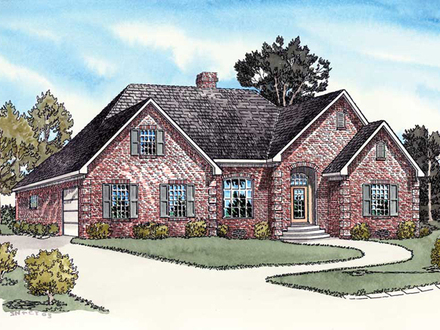 Ranch House Plans with Side Entry Garage Ranch House Plans with Open Floor Plan