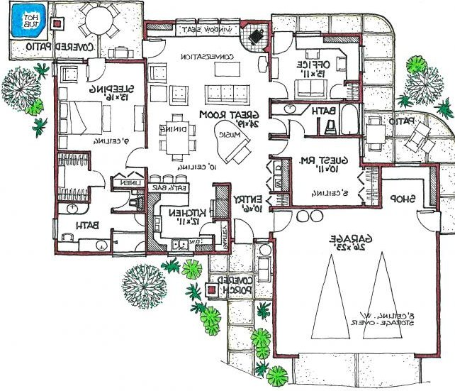 Robinson bungalow house plans bungalow house floor plans for Robinsons homes design collection