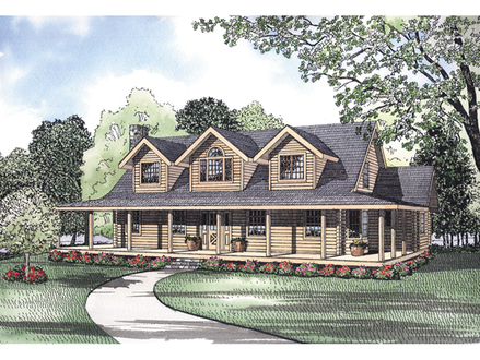 Rustic Home Plans with Wrap around Porches Rustic Cottage Floor Plans