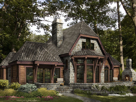 Rustic Log Cabin Home Plans Rustic Cabins in Virginia Mountains