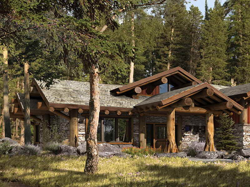 Rustic Small Barn Homes Small Rustic Mountain Home Plans