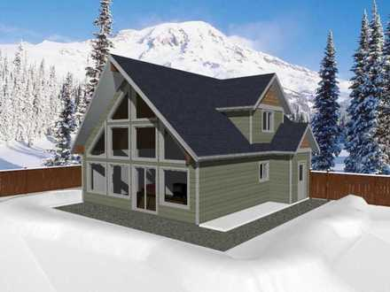Simple Cabin Plans Cabin Chalet House Plans