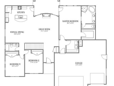 Simple House Plans with Open Floor Plan Simple Affordable House Plans