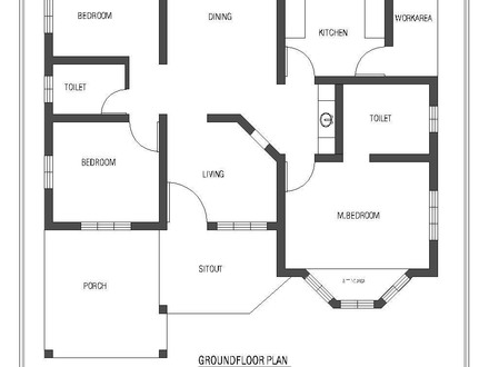 Simple Small House Floor Plans Single Floor House Plans