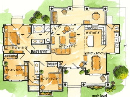 Simple Vacation House Plans vacation house plans