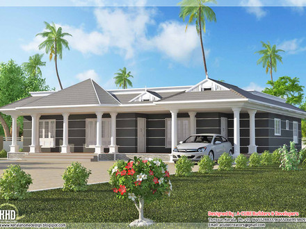 Single House Design One Floor Houses