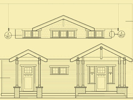 Single Story Craftsman House Plans Craftsman House Plan Front Elevation