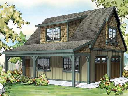 Single Story Craftsman House Plans Craftsman House Plans with Garage