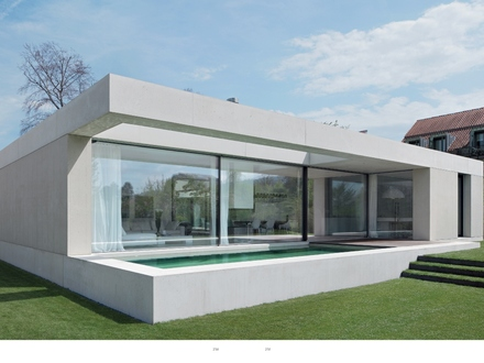 Flat Roof Structure Flat Roof Modern House Designs