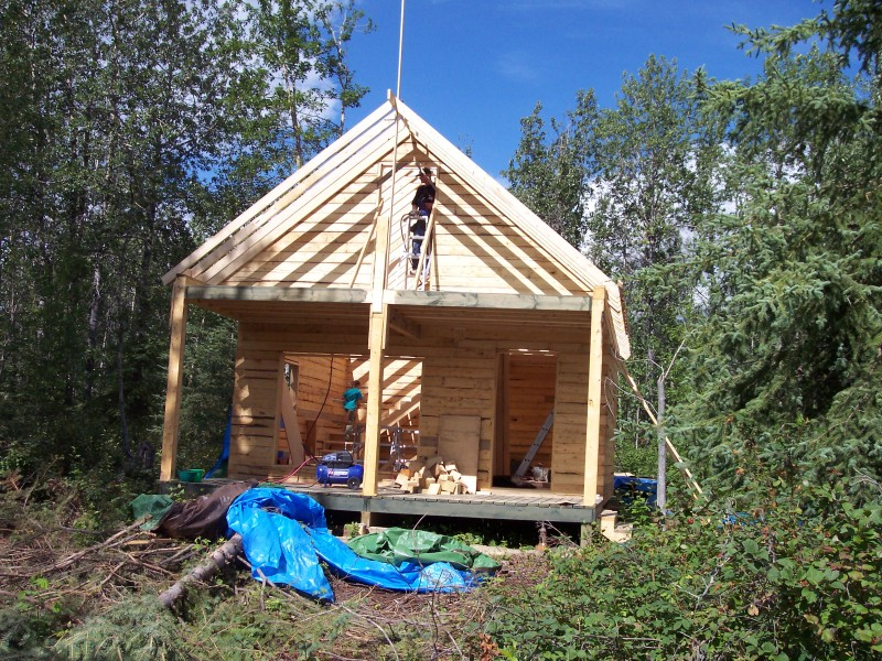 Small cabin building costs building small cabins small for Cost to build a small cabin