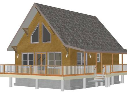 Small Cabin House Plans with Loft Small House Plans Rustic Cabin