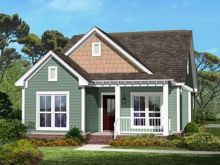 Small Craftsman Style Cottages Small Craftsman Style House Plans