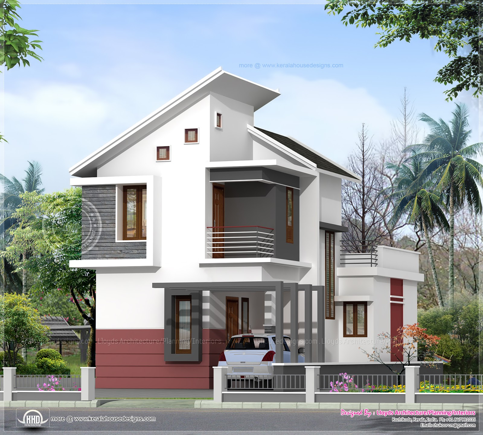 Modern Kerala Home Design: Small Home Kerala House Design Architectural House Plans